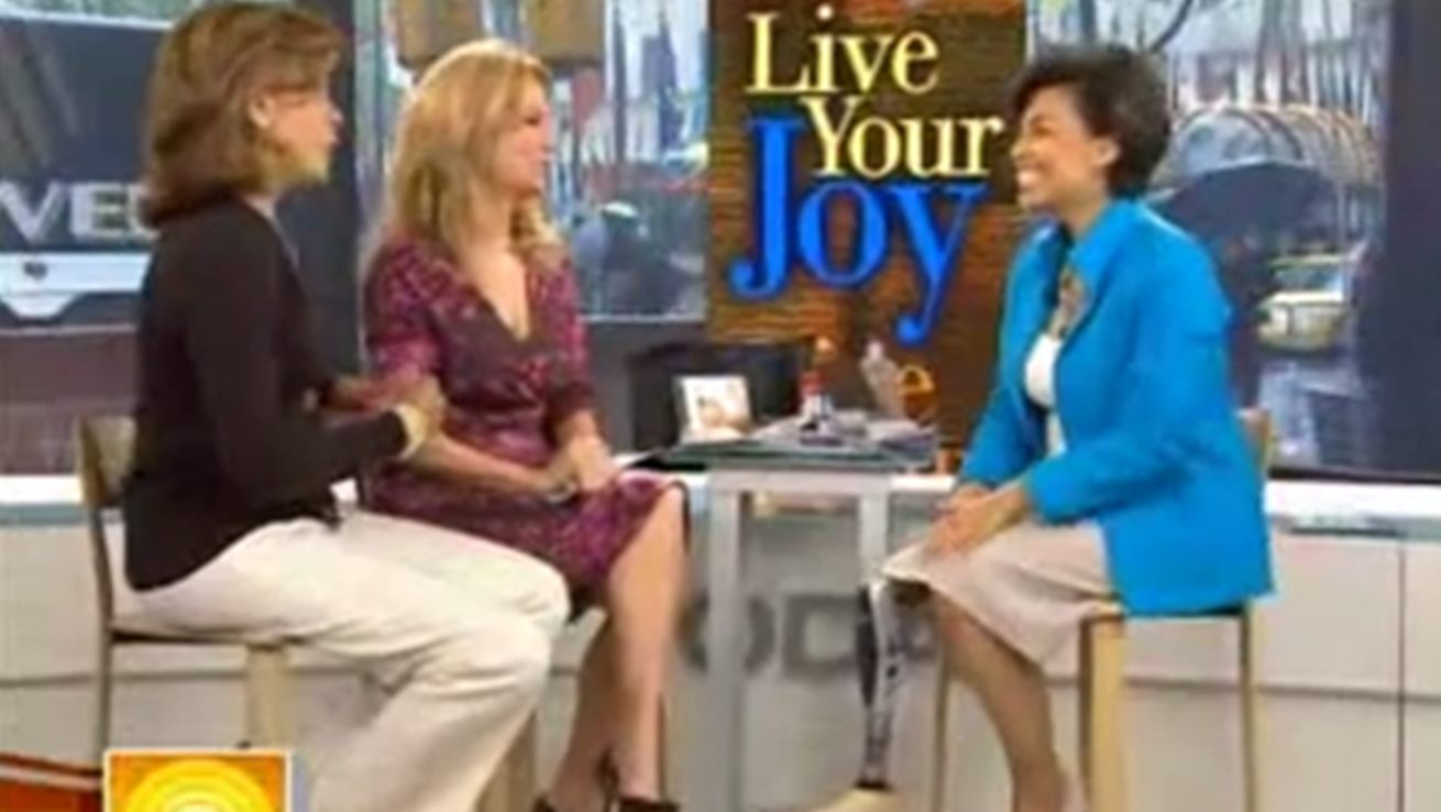 Bonnie St. John discussing her book Live Your Joy