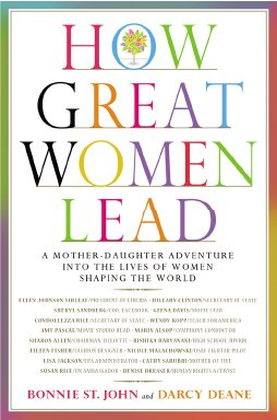 Book Cover: How Great Women Lead by Bonnie St. John and Darcy Deane