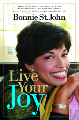 Book cover: Live Your Joy by Bonnie St. John